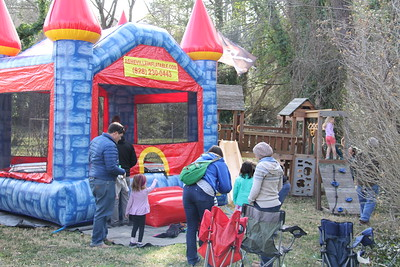 bounce house birthday fun