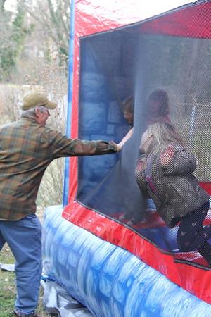 Granddad added to the fun