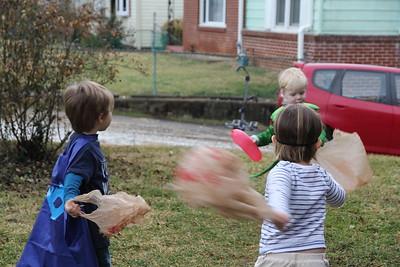 heading for the egg hunt