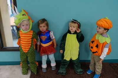 Supergirl & a Pumpkin join in the pix