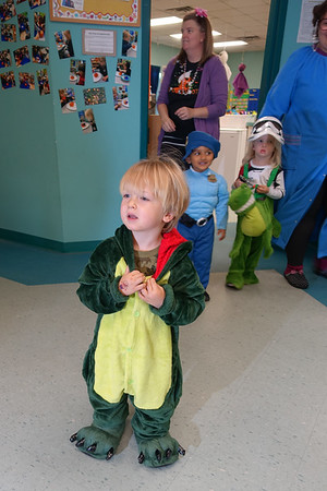 Halloween Parade at Day Care    10-2017