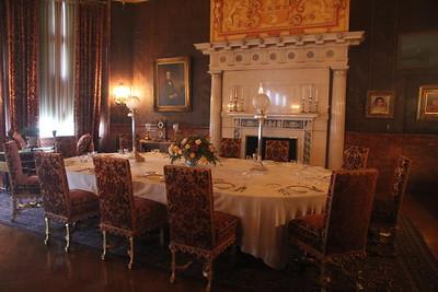 breakfast room at Biltmore House