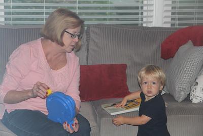 Aunt Jan visits Asheville