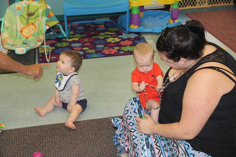 Elliot visits his daycare