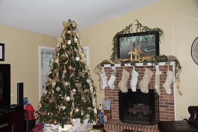 Cerne III tree and stockings