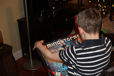 what Aaron wanted the most - rmindstorm robot construction