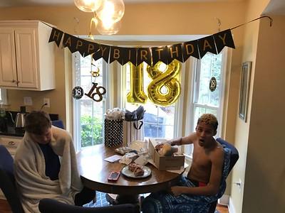 Edward IV - 18th Birthday   3/2020