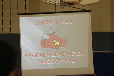 slide show - each child had a bab y picture followed by their 6th grade picture
