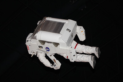 hanging in space