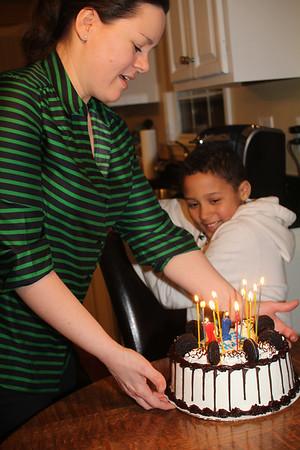 I think he likes his cake