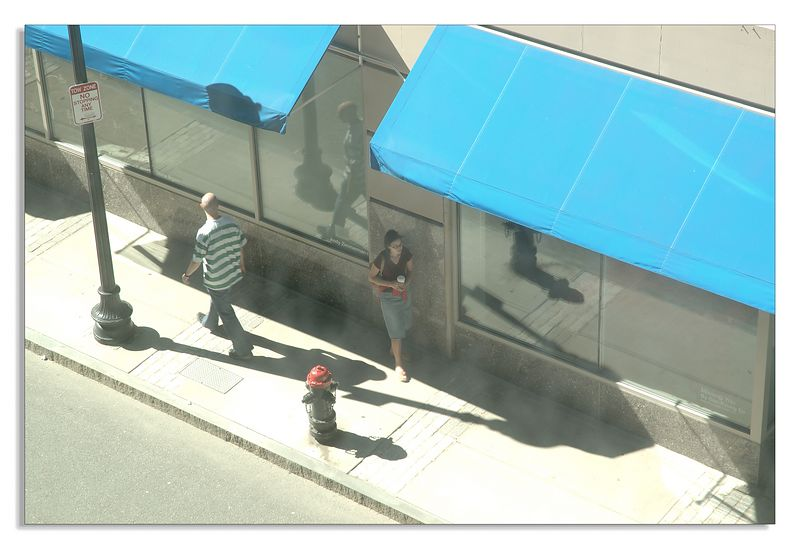 (Loews Boston Common: View on the street)
