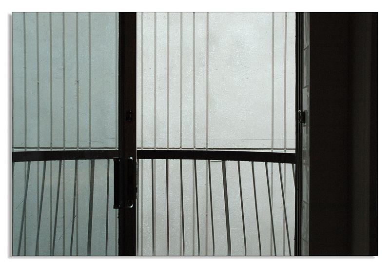 Balcony and hotel room in Niagara Falls (Ontario)...