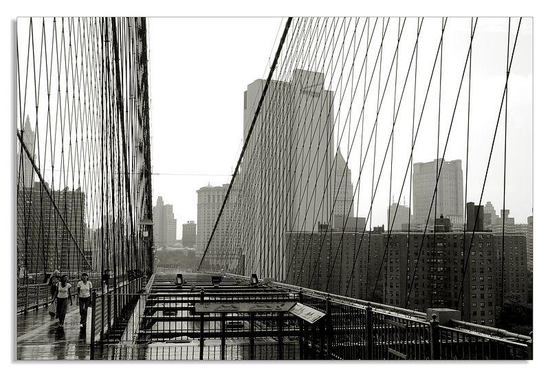 (Brooklyn bridge)