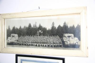 Dad's tank battalion. 737th Tank Battalion.