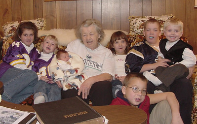 Christmas with G Grandma  2000