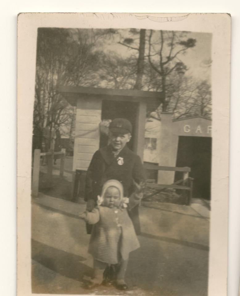 Gordon (born 14 June 1930) with Brenda (born 8 Feb 1236)