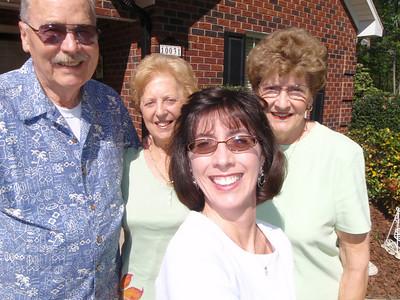 4 - Wade, Gladys, Betty, Jenny at Jane's house (self-portrait!)
