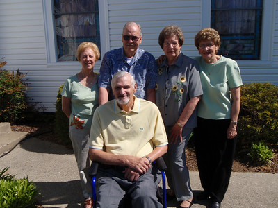 6 - Gladys, Wade, Troy, Sarah, and Betty at Mt. Olive Lutheran Church