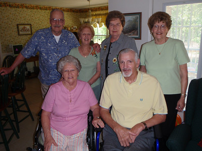 10 - Wade, Jane, Gladys, Troy, Sarah, and Betty at Jane's house
