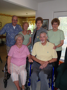 9 - Wade, Jane, Gladys, Troy, Sarah, and Betty at Jane's house