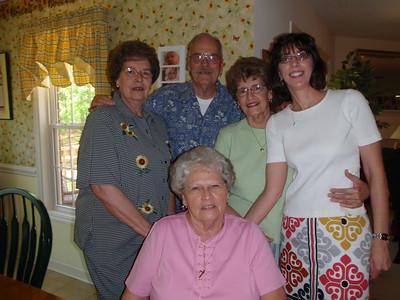 14- Sarah, Jane, Wade, Betty, and Jenny at Jane's house