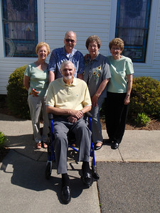 5 - Gladys, Wade, Troy, Sarah, and Betty at Mt. Olive Lutheran Church