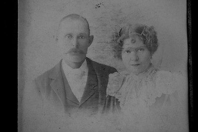 Cora Wade Sheppard and husband