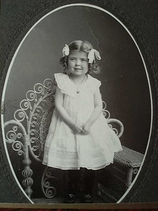 Ione about age 3