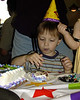 Matthew at his birthday party
