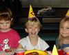 Sarah having fun at party