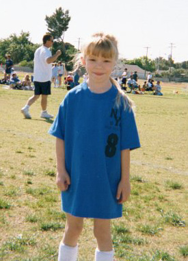 Sarah the soccer champ