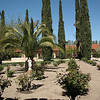 Courtyard of Mission San Antonio de Padua
