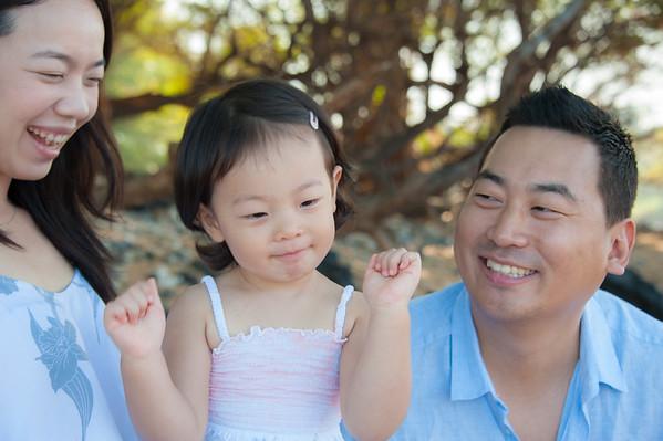 Choi Family Maui Beach Portrait