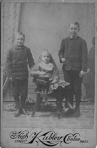 Everett Walcott, Julia Walcott, Myron Walcott