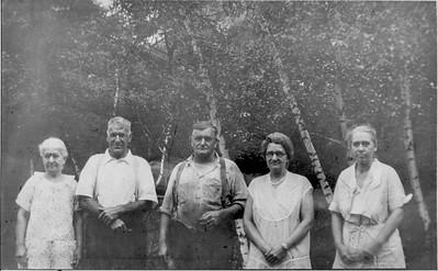 Minnie Walcott, Everett Walcott, Myron Walcott, Julia Walcott, Ida Walcott