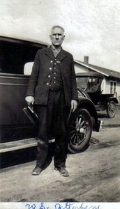 William S Atterberry (Verna's grandfather) in his constable uniform