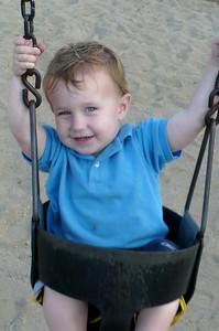 Daniel swinging