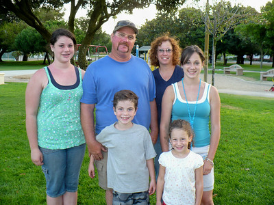 Deena and Anthony Benz Ashley, Thomas, Emily, and Kimberly Ann