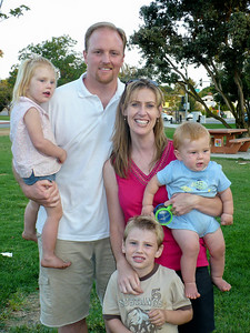 Greg and Theresa Yumbar and their children