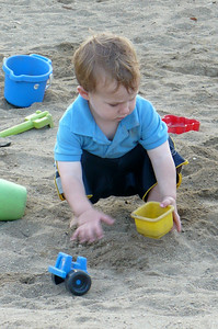 Daniel in the sandbox