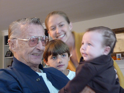 Uncle Jim, Ari, Paul, and Cambria
