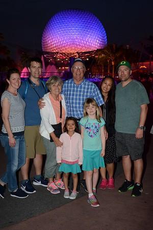 Walt Disney World photopass photos, Feb. 2017