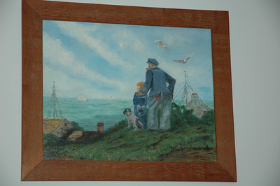 Copy of Norman Rockwell painting by Vera l. Ware