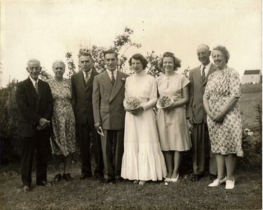 Edward C. Ware Jr. and Margaret Wheeler Wedding