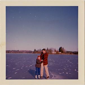 Cheryl and Bob, Barehill Pond