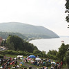 West Point Military Academy, on Labor Day, for a concert of military music.  Nice view of the Hudson Valley.