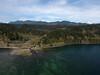 Aerial shot of Mt Washington from near Liiliwaup