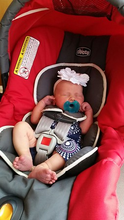 Miss Taylor Grace Nuckolls born July 3, 2015