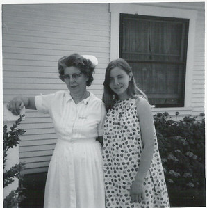 Marcia with Margaret in Fresno