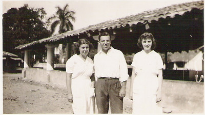 Mexico volunteering 1943 -44 Marcia is on the left.